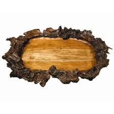 Back to the Roots Ellipse Drifter Root Serving Tray