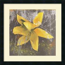 'Tulip Fresco Yellow' by Erin Clark Framed Photographic Print