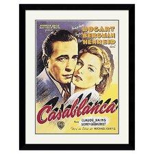 Casablanca Framed Vintage Advertisement