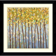 'Glistening Tree Tops' by Libby Smart Framed Painting Print