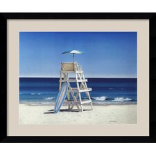 'Life Stand' by Daniel Pollera Framed Painting Print