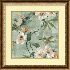 'Birds of a Feather II' by Renee Campbell Framed Art Print
