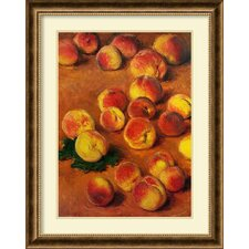 'Peaches' by Claude Monet Framed Painting Print