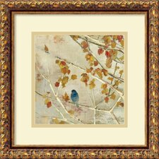 'Singing II' by Asia Jensen Framed Painting Print