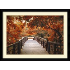 'Footbridge' by Jessica Jenney Framed Art Print