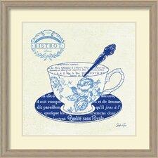 Blue Cups I by Stefania Ferri Framed Wall Art