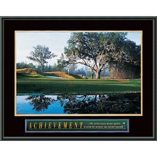 Achievement- Golf Framed Photographic Print