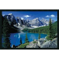 Moraine Lake Banff Framed Photographic Print