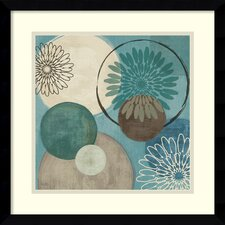 'Flora Mood I' by Veronique Charron Framed Painting Print
