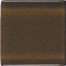 """Legacy 4.25'' x 4.25"""" Glass Field Tile in Sable"""