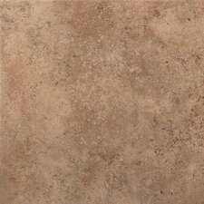 "Vallano 6"" x 6"" Porcelain Field Tile in Milk Chocolate"