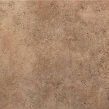 "Vallano 18"" x 18"" Porcelain Field Tile in Milk Chocolate"