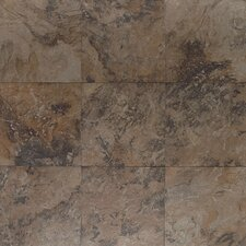 """Amber Valley 3"""" x 3"""" Porcelain Mosaic Tile in Derby Brown"""