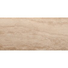 "Natural Stone 12"" x 24"" Travertine Wood Tile in Dore Select"