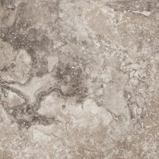 "Natural Stone 8"" x 8"" Travertine Field Tile in Beige"