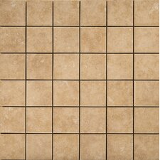 Pacific Ceramic Mosaic Tile in Noce