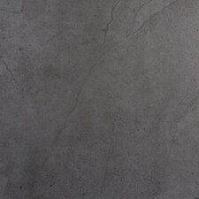 """St Moritz Ii 12"""" x 12"""" Porcelain Field Tile in Gray"""