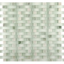 Lucente Random Sized Glass Mosaic Tile in Lazzaro