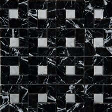 Marble Mosaic Tile in White