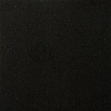 "Natural Stone 12"" x 12"" Granite Field Tile in Absolute Black"