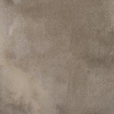 "Cosmopolitan 18"" x 18"" Porcelain Metal Tile in Grey"