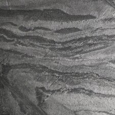 """Natural Stone 12"""" x 12"""" Slate Field Tile in Silver Gray"""