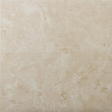 "Cordova 13"" x 13"" Ceramic Field Tile in Avorio"