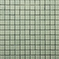 "Lucente 1"" x 1"" Glass Mosaic Tile in Cascade"