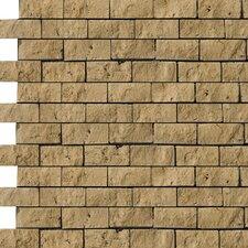 Natural Stone Random Sized Travertine Mosaic Tile in Mocha