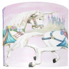 Unicorn Carousel Drum Lamp Shade
