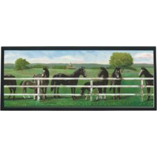 Saddle Up Painting Print on Plaque