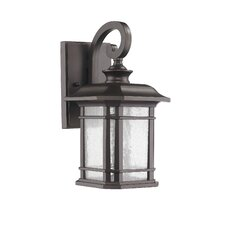 Transitional 1 Light Wall Lantern