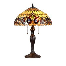 """Victorian Serenity 22.4"""" H Table Lamp with Bowl Shade"""