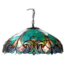 Victorian 2 Light Liaison Ceiling Bowl Pendent