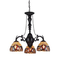 Serenity 3 Light Mini Chandelier