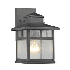 Breunor 1 Light Outdoor Wall Sconce