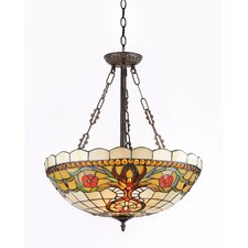 Berleena 3 Light Inverted Hanging Pendant