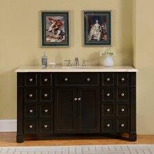"""60"""" Single Sink Cabinet Bathroom Vanity Set"""