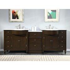 "Kelston 95"" Double Bathroom Vanity Set"