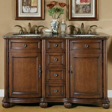 "Adela 52"" Double Bathroom Vanity Set"
