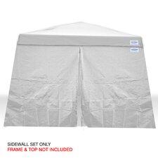 V-Series 12 Ft. W x 12 Ft. D Sidewall Kit Canopy