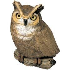 Original Size Sculptures Owl Figurine