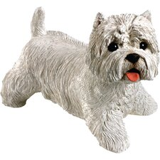 Original Size Sculptures West Highland Terrier Figurine