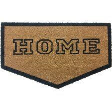 Home Plate Shaped Doormat