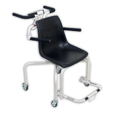 Chair Scale with Zero Turn Radius Single Load Cell