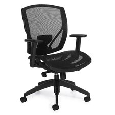 High-Back Mesh Synchro Tilter Office Chair