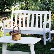 Newport Plastic Garden Bench