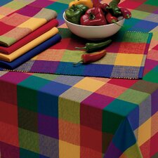 Palette Check Table Cloth