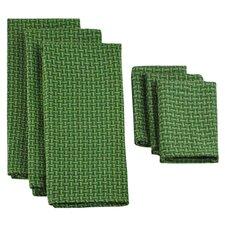 6 Piece Heavyweight Dish Towel & Dish Cloth Set