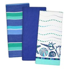 3 Piece Sea Dishtowel Set